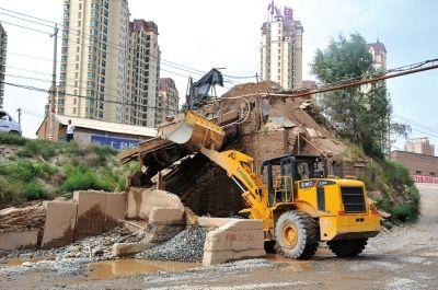 建筑工程拆除施工机械铲运机