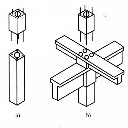 承重结构的传力体系_承重结构传力体系的作用_梁和柱连接的节点构造
