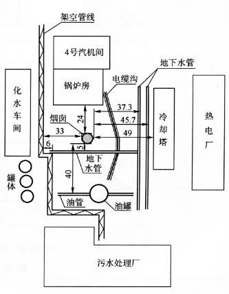 广州造纸厂高100m钢筋混凝土烟囱多段连续折叠拆除爆破
