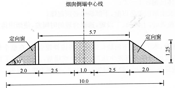 图12-9+60.2m缺口形状、尺寸示意图(尺寸单位:m)