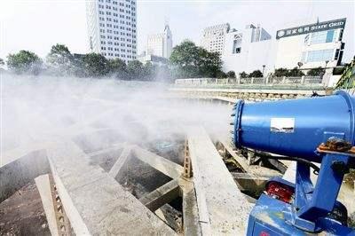 拆除工程扬尘污染治理