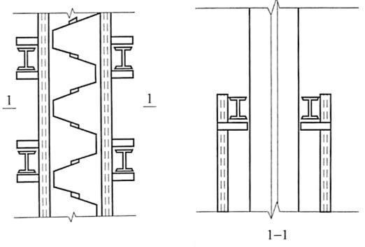 图6-10围橡插桩法