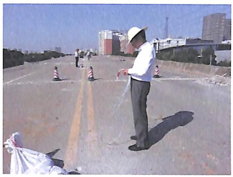 图8-17起爆网路1:1模拟试验