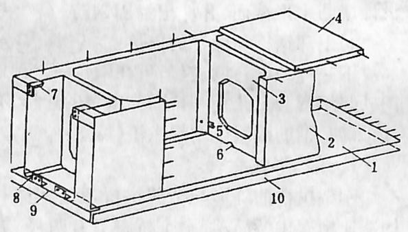 图1-1-65槽形拱箱构造