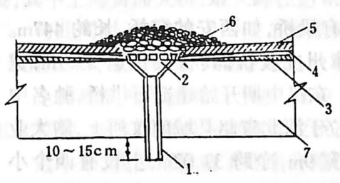 图1-1-74泄水管构造