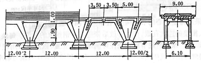图2-1-82V型斜撑构架