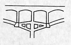 图2-1-101拱桥轻型桥墩型式二—悬臂墩