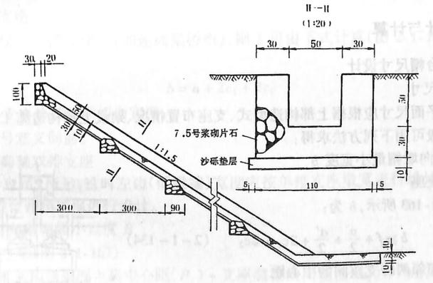 图2-1-160排水槽构造