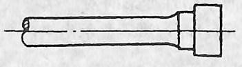 图3-1-3阶梯形拉伸试样头部