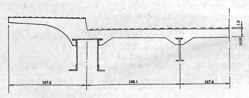 图3-6-10现浇钢筋混凝土公路桥面板(单位cm)