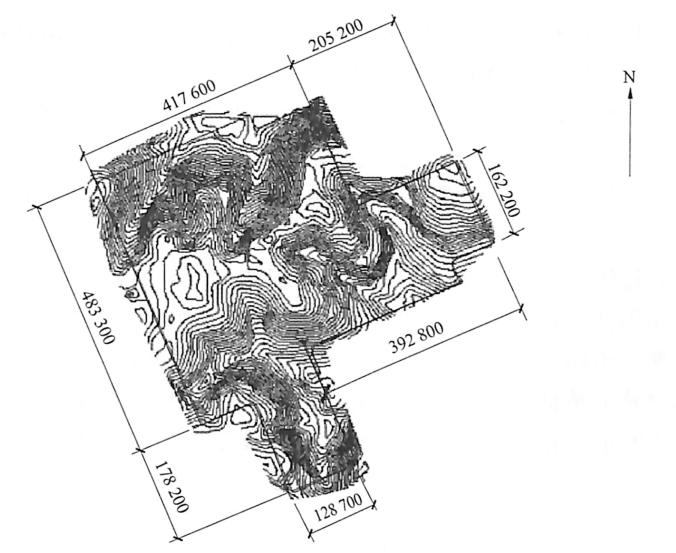 山区大面积场平工程土方施工案例